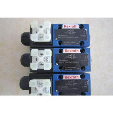 REXROTH 4WE 6 C6X/EW230N9K4/V R900927326 Directional spool valves